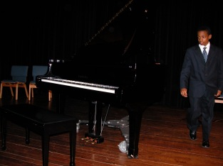 Ansted in recital